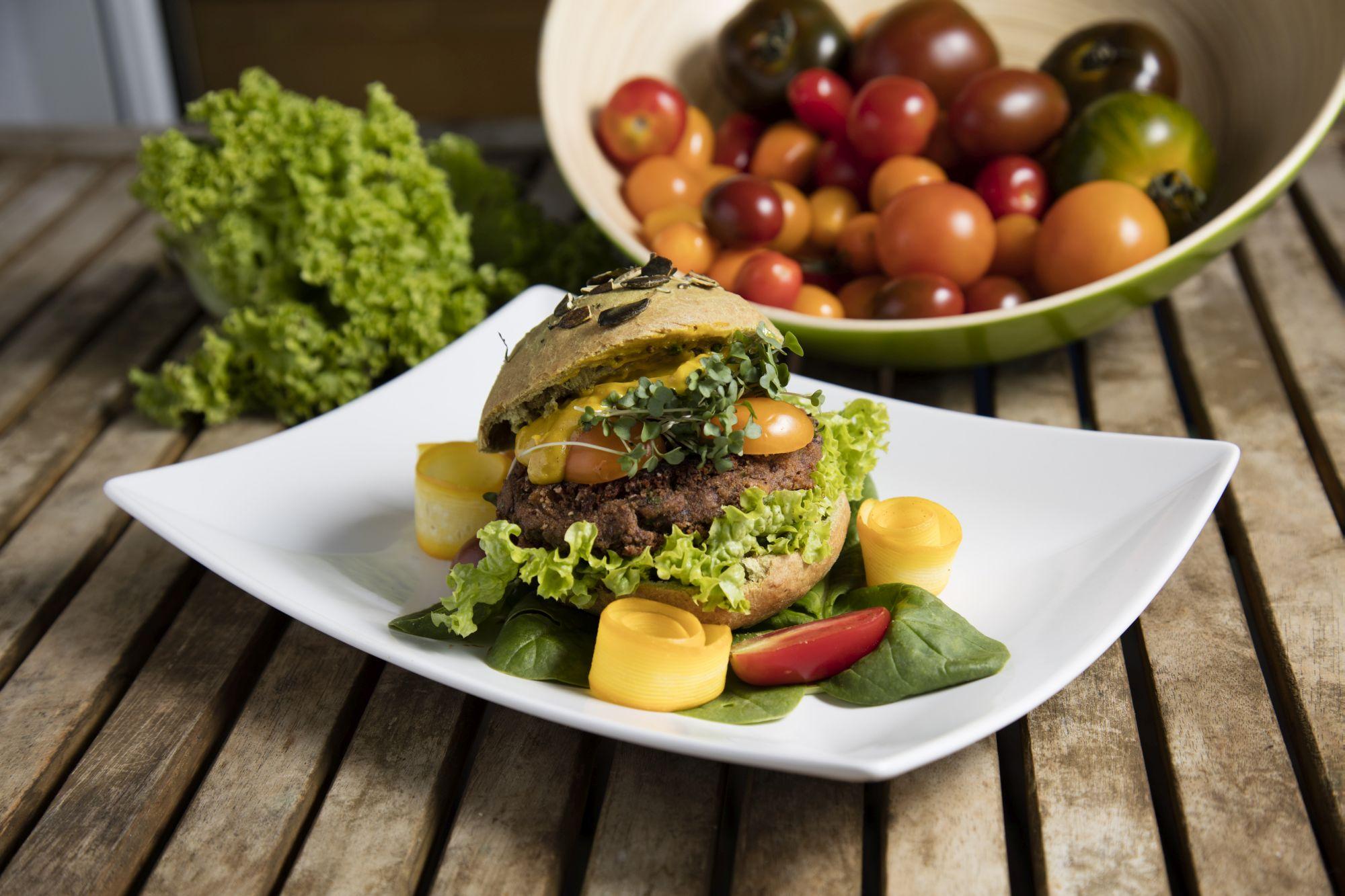 Käferbohnen Burger Herbst Rezepte Klimakochbuch